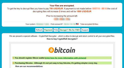 Cryptowall - Ransomware Recovery